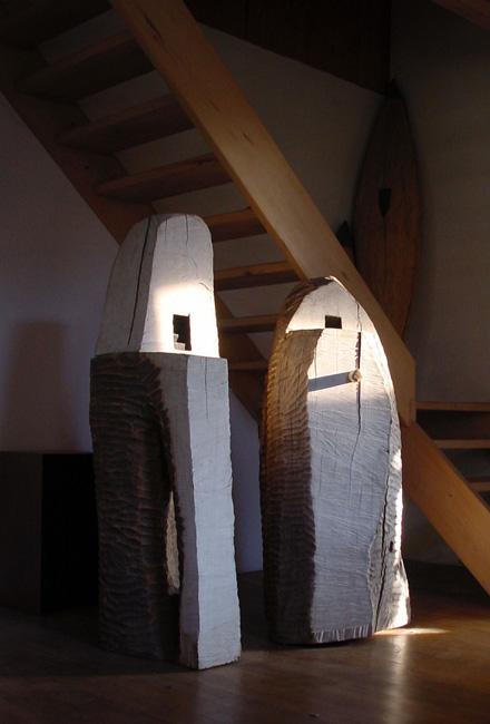 sculpture - beukenhout