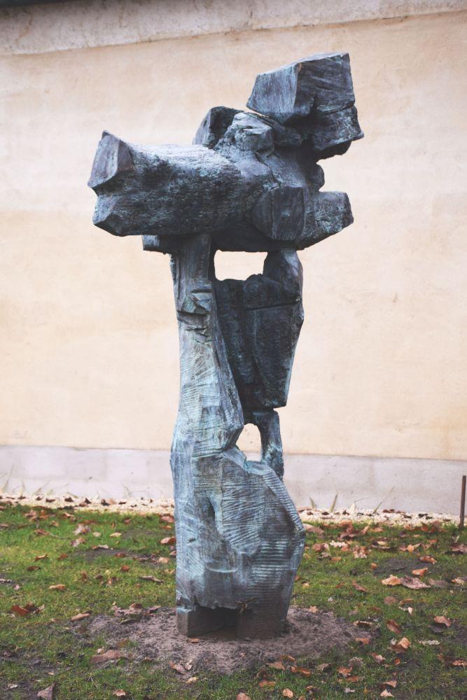 sculpture - brons 200 cm